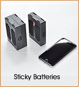 Sticky Batteries